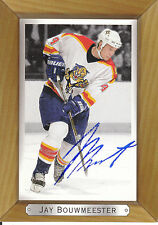 JAY BOUWMEESTER PANTHERS AUTOGRAPH AUTO 03-04 BEEHIVE #84 *22262