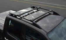Black Cross Bar Rail Set To Fit Roof Side Bars To Fit Volkswagen Amarok (2010+)