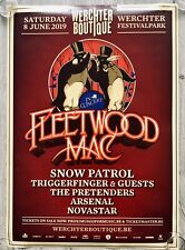 FLEETWOOD MAC - TOUR CONCERT POSTER Werchter 2019 - (lp box tickets disc vinyl