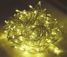 96er LED Lichterkette warmweiß - Innen + Außen - Weihnachtslichterkette Netzteil
