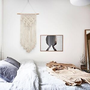 Macrame Wall Hanging Tapestry Bohemian Handmade Backdrop Curtain Art Home Decor