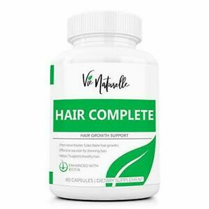DHT Blocker Hair Growth Vitamins with Sal Palmetto for Men and Women -...