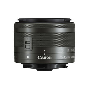 Canon EF-M 15-45mm f/3.5-6.3 IS STM Lens Graphite