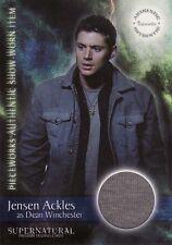 Supernatural Season 1 Jensen Ackles / Dean PW4 T-Shirt Pieceworks Card