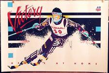 1991 US Olympic Ski Team VICTORY Poster PARK CITY UTAH  -SUBARU Official Sponsor
