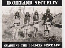 "*Postcard-""Homeland Security"" ...Guarding The Borders Since 1492-  (B343)"