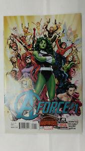 A-FORCE #1  1st Printing - Singularity                      / 2015 Marvel Comics