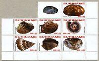 Surinam 2011 Muscheln Shells Schelpen Meerestiere 2447-2453 Postfrisch MNH