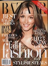 Bazaar September 2009 Leighton Meester VG 021716DBE