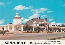 """*Michigan Postcard-""""Zehnder's...Frankenmuth Chicken Dinners"""""""