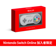 Nintendo Switch Online Store Limited Super Famicom Controller Game Mario SNES