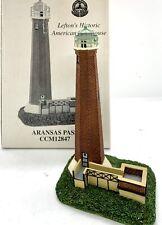 "Lefton's Historic American Lighthouse, Aransas Pass CCM12847 NIB 1999  5.25"""