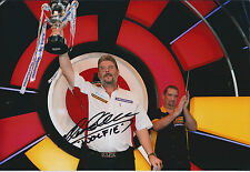Martin WOLFIE ADAMS Signed Autograph Photo AFTAL COA BDO DARTS World Champion