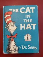 The Cat in the Hat Book Club Edition 1957 First Edition Dr seuss