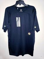 Mens Under Armour Rush Black Short Sleeve Athletic Shirt $50 New NWT Size XL