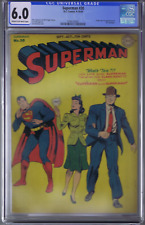 Superman #30 DC Pub.1944 1st Appearance & Origin of Mr. Mxyztplk ,CGC 6.0 (FINE)