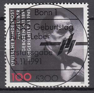 BRD 1991 Mi. Nr. 1574 gestempelt BONN Sonderstempel , mit Gummi (17744)