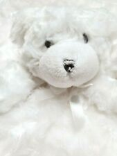 Blankets and Beyond White Bear  Nunu Baby Security Blanket Lovey
