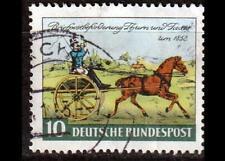 BRD Bund 1952 Mi. 160 gestempelt - 100 JT Erstausgabe Briefmarken Thurn u. Taxis
