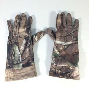 Hunter's Specialties Realtree Camo Hunting Gloves Size Medium? with Grip