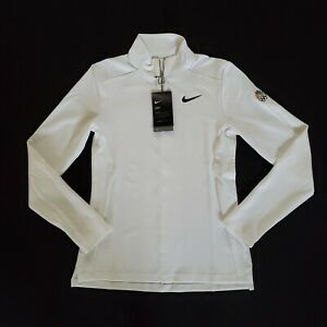 Nike Training White XS 1/4 Zip NBC 2020 Tokyo Olympics Women Pullover Shirt Top