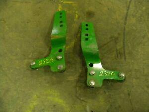 Grille Guard Bracket W51658 W51659 John Deere 200X 200CX 220R H130 Loader
