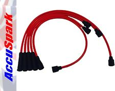 AccuSpark Red Silicon High Performance Carbon Core HT Leads for Volvo P1800