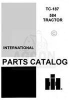 International 584 Tractor Parts Catalog Manual TC-187