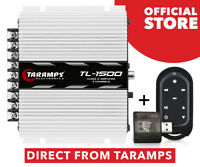 Taramps Amplifier TL 1500 2 Ohms - 390 watts RMS + Connect Control Black