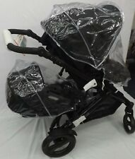 PVC RAINCOVER X2 FIT BABY JOGGER BABYJOGGER CITY SELECT DOUBLE ZIP ACCESS