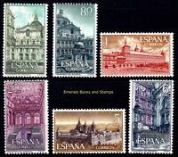 EBS Spain España 1961 Monastery of San Lorenzo de El Escorial 1277-1282 MNH**