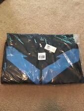 Nightwing Cosplay Jacket Men's Large L DC Comics Superhero Black Blue Hero Logo