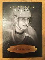 2014-15 UD Masterpieces B&W Portraits - WAYNE GRETZKY #165 Edmonton Oilers