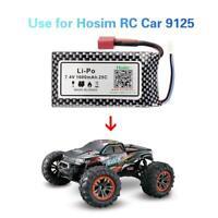 Hosim 2S 7.4V 25C 1600mAh Li-Po Rechargeable Battery Pack For RC Car Truck 9125