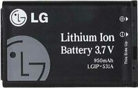 2-PACK OEM LG LGIP-531A Cell Phone Li-Ion Battery 3.7V 950mAh 3.6Wh 1lCP6/35/54