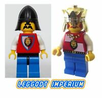 Lego Castle Minifigures - Royal Knights - king minifig FREE POST