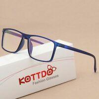 Eyeglasses Frame Vintage Square Spectacle Eyeglass Frame Men Women Glasses Kit
