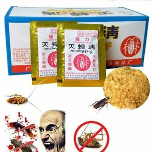 Repellent Pest Control Anti Bugs Powder Cockroach Killing Bait Insecticide