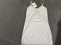 NWT Juicy Couture New & Genuine Grey Cotton Short Night Dress Size Small