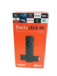 Amazon Fire TV Stick 4K Ultra with 2nd Gen Alexa Voice Remote - Black