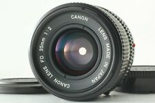 【EXC+++】 Canon New FD NFD 35mm f/2 Wide Angle MF Lens From JAPAN #592