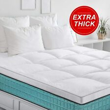 BedStory Extra Thick Full size Mattress Topper Cooling Mattress Pad Cover Bed