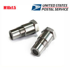 M18x1.5 O2 Oxygen Sensor Extension Spacer Connector with CEL Catalyst Universal