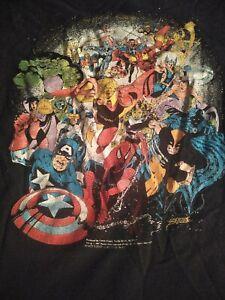 Infinity Gauntlet Shirt Infinity War Avengers End Game 1990s Marvel Comics Book