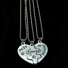 4cm*3.5cm  Best Friends Forever Necklaces Lovers' Collier Bff Statement Necklace
