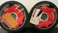 Lot of 2 The Body Shop Smoky Poppy Seed Scrub 7.9 oz Each Jar Please Read All!