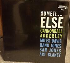CANNONBALL ADDERLEY 'Somethin Else LP 180 Miles Davis Art Blakey Hank Sam Jones