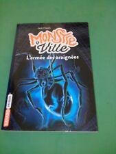 Jack Heath - Monstreville, tome 2 : L'armée des araignées - Bayard Frisson