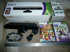 MICROSOFT XBOX 360 S SLIM OFFICIAL KINECT SENSOR CAMERA 2 GAME TV Mount Bundle