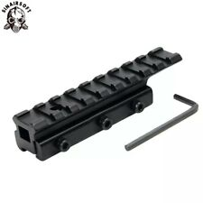 Tactical 11mm to 20mm Picatinny Weaver Rail Adapter Dovetail Scope Extend Mount
